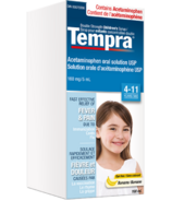 Tempra Fever & Pain Relief Syrup Banana (4-11 yrs)