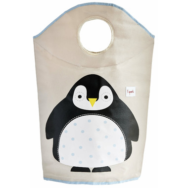 3 Sprouts Laundry Hamper Penguin