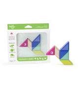 Tegu Magnetic Wooden Blocks Travel Pals Hummingbird