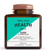Well Told Health Sommeil