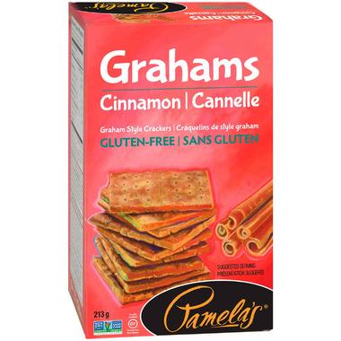 Pamela\'s Gluten Free Cinnamon Graham Style Crackers