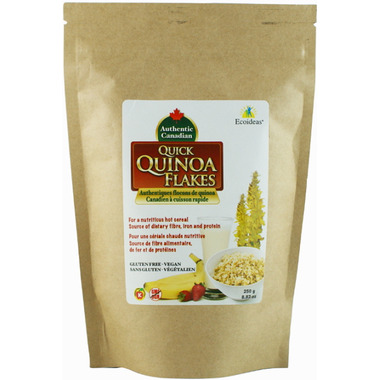 Ecoideas Authentic Canadian Organic Quinoa Flakes