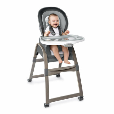 inGenuity Boutique Collection 3in1 Wood High Chair Bella Teddy