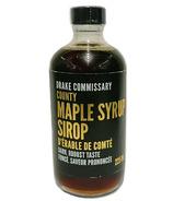 Drake Commissary County Maple Syrup Dark Robust Taste