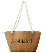 Tickled Pink Do Not Disturb Embroidered Bag