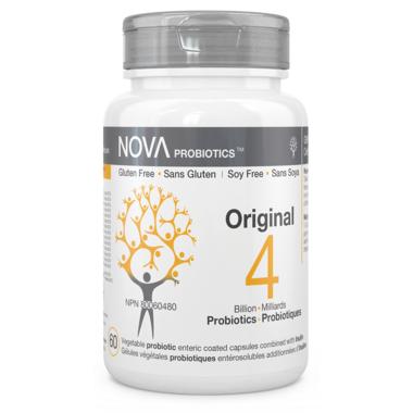 NOVA Probiotics Original 4 Billion CFU