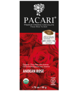 Pacari Premium Organic Chocolate Andean Rose