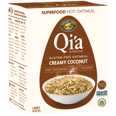 Nature\'s Path Qi\'a Gluten Free Oatmeal Creamy Coconut