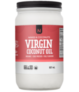 Naked Coconuts Organic Virgin Coconut Oil Medium