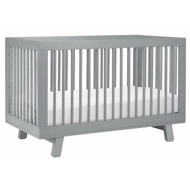 Babyletto Hudson 3-in-1 Convertible Crib Grey