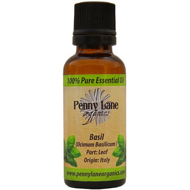 Penny Lane Organics Basil Essential Oil