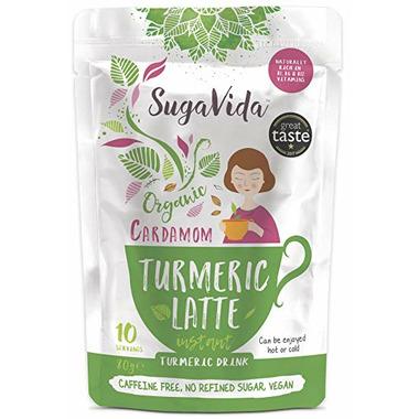 SugaVida Instant Organic Cardamom Turmeric Drink