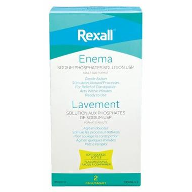 Rexall Enema Twin Pack