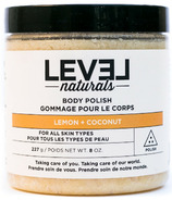 Level Naturals Body Polish Lemon + Coconut