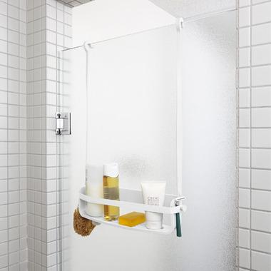 Umbra Flex Single Shelf Shower Caddy White