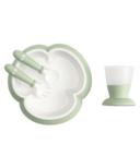 BabyBjorn Baby Feeding Set Powder Green