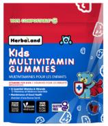 Herbaland Multivitamin Gummies pour enfants
