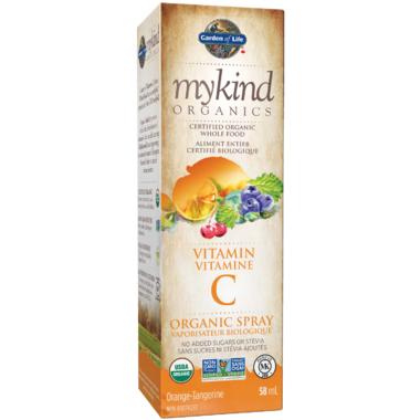 Garden of Life MyKind Organics Vitamin C Organic Orange-Tangerine Spray
