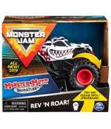 Monster Jam Official Monster Mutt Dalmatian Rev 'N Roar Truck