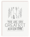 mavisBLUE You Are Our Greatest Adventure Print