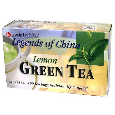 Uncle Lee\'s Legends of China Lemon Green Tea