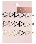 kitsch Triangle Bobby Pins