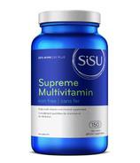 SISU Supreme Multivitamin Iron Free Bonus Size