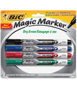 Bic Great Erase Liquid Ink Dry Erase Markers