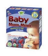 Hot-Kid Baby Mum-Mum Organic Blueberry & Goji Rice Rusks