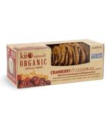 Kii Naturals Artisan Crisps Organic Cranberry and Cashew