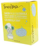Souris Verte Calendula soap