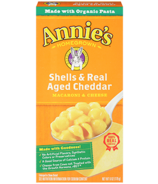 Annie's Homegrown Shells and Real Aged Cheddar