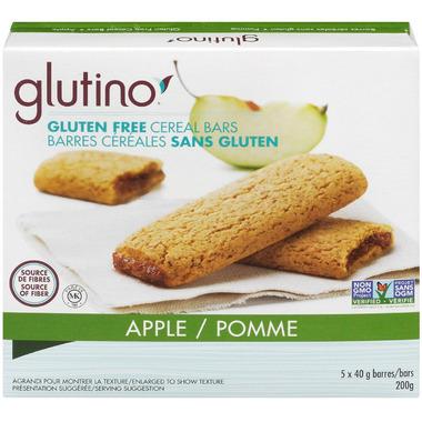 Glutino Gluten Free Breakfast Bars Apple