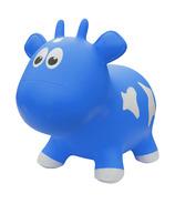 Vache gonflable Farm Hoppers Bleu