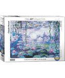 Eurographics Waterlilies by Claude Monet Puzzle