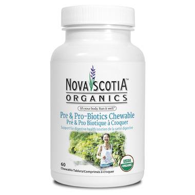 Nova Scotia Organics Chewable Pre & Pro Biotics