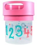 Munchie Mug Pink Numbers
