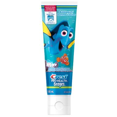 Crest Pro-Health Finding Dory Toothpaste Bubblegum