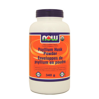 NOW Foods Organic Psyllium Husk Powder