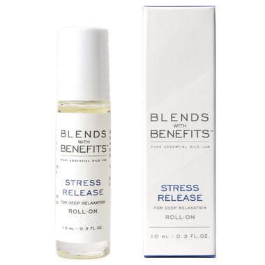 Blends With Benefits Stress Release Essential Oil Roll On