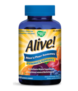 Nature's Way Alive! Mens's Gummies MultiVitamin & Mineral Supplement