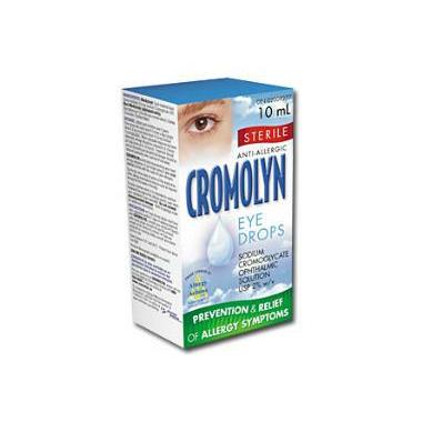 Cromolyn 2% Opthalmic Solution Eye Drops