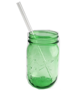 Strawesome Smoothie Glass See-Thru Straw