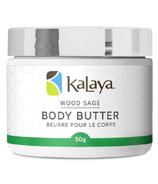 Kalaya Naturals Wood Sage Body Butter