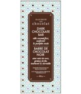 Galerie au Chocolat Dark Chocolate with Seeds Bar