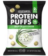 Shrewd Food Protein Puffs Sour Cream & Onion