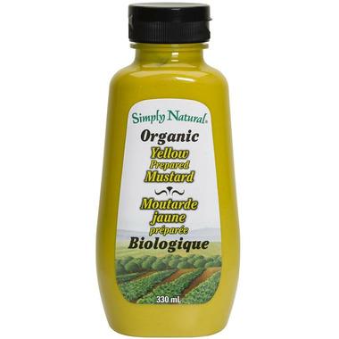 Simply Natural Organic Yellow Prepared Mustard