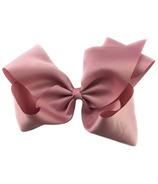"Baby Wisp Pinch Clip Mariah 8"" Bow Blush Pink"