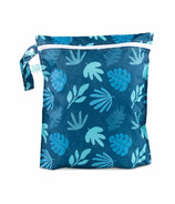 Bumkins Wet Bag Blue Tropics