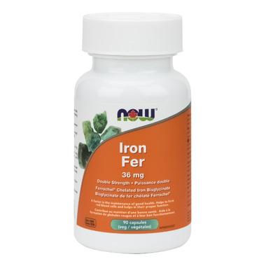 NOW Foods Double Strength Iron